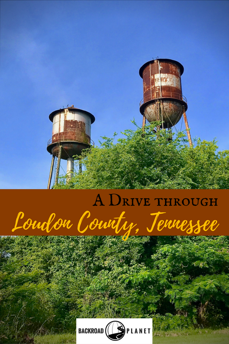 On a drive through Loudon County, Tennessee, you can scout Civil War Trails, sample cheese at Sweetwater Valley Farm, tour historic towns, hike to National Campground, detour to Sam Houston's Schoolhouse, and discover the Million Dollar View. #travel #TBIN #roadtrip #Tennessee #madeintn