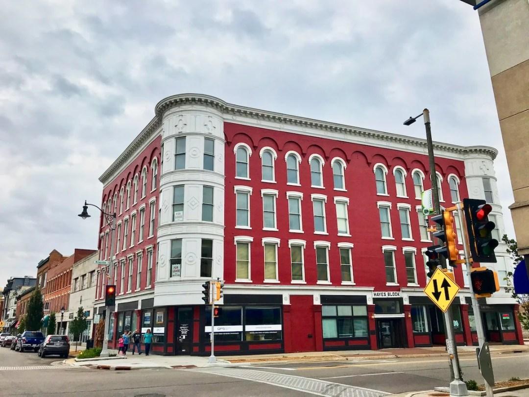 Hayes Block Building Janesville