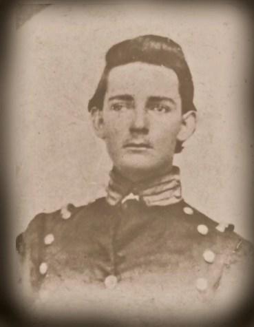 Israel Garner circa 1864 CASA