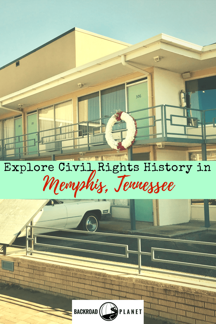 Explore Civil Rights history in Memphis, Tennessee, with visits to the National Civil Rights Museum at the Lorraine Motel, Clayborn Temple, Slave Haven Underground Railroad Museum, and Beale Street. #CivilRights #history #MLK #Memphis #roadtrip #tennessee