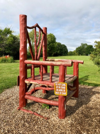 Letchworth big chair - Things to Do in Letchworth State Park