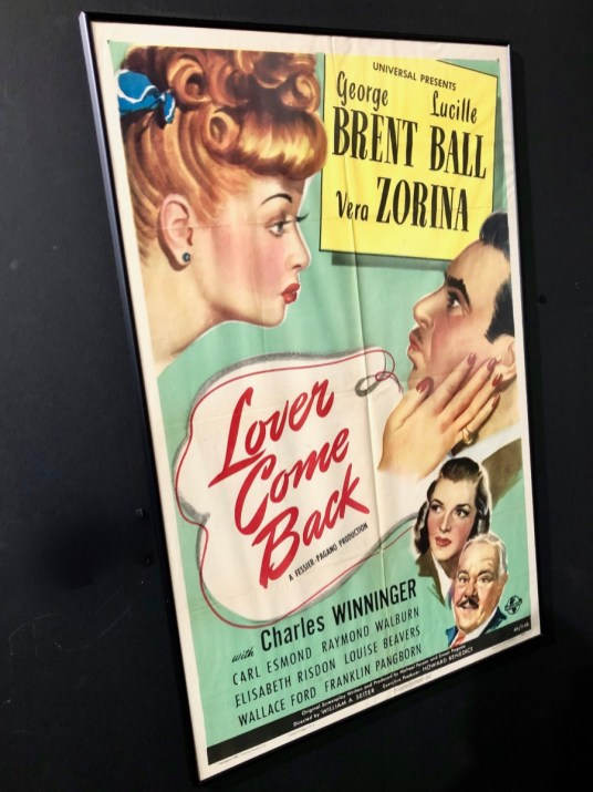 lover come back movie poster