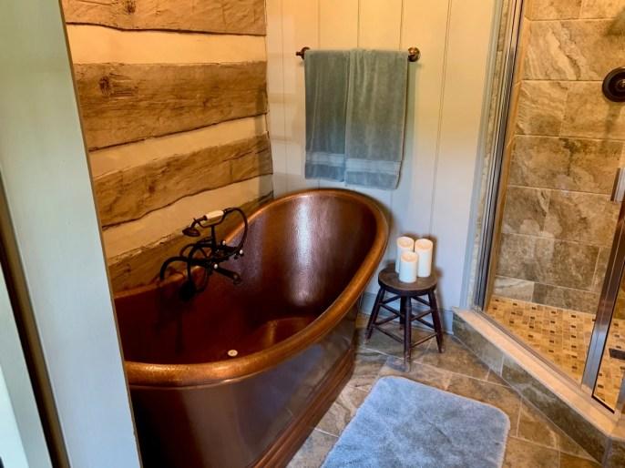 MeadowCroft Bronze Bathtub