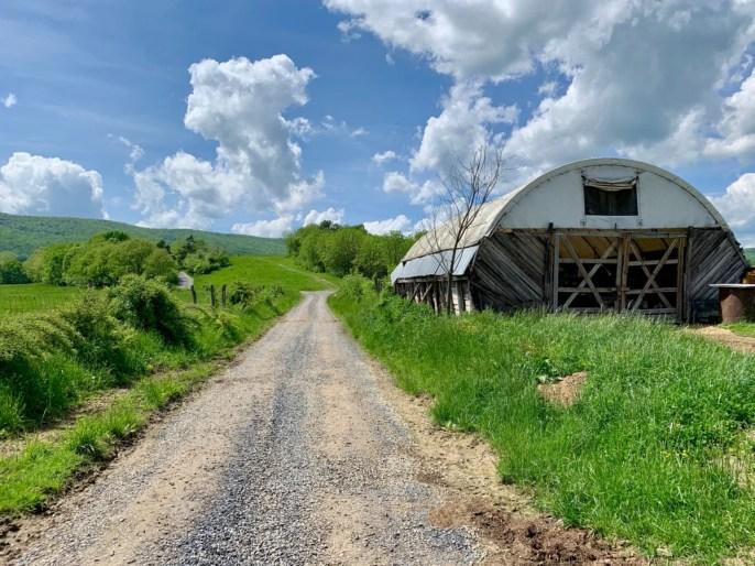 Polyface Farm Road