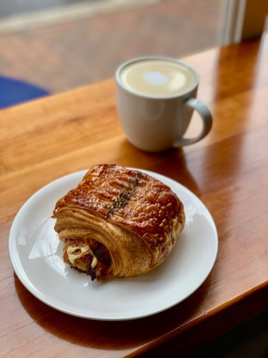 Reunion Bakery Croissant Coffee - Fun Things to Do in Staunton Virginia