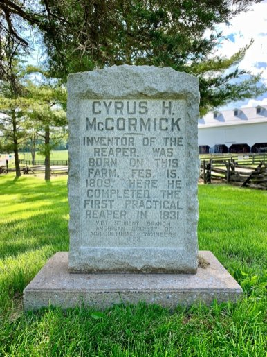 Cyrus McCormick Monument