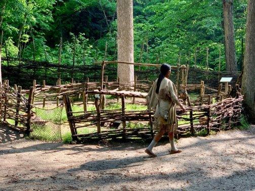 Monacan Living History Exhibit