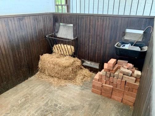 Robert E Lee's Horse Traveller's Stall Interior