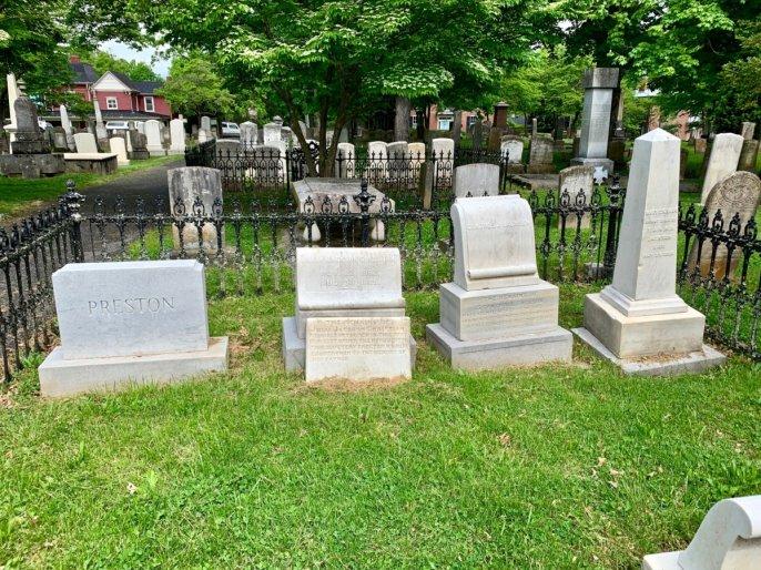 Stonewall Jackson Family Graves