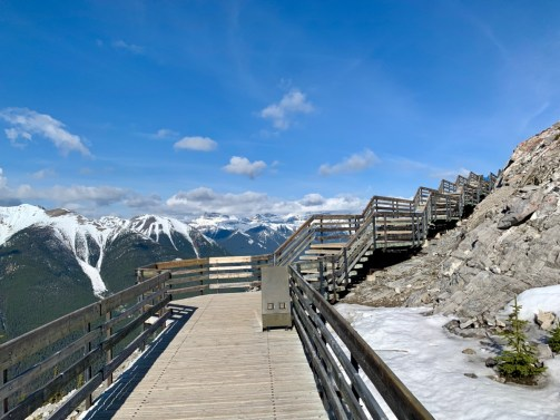 Sulphur Mountain Boardwalk Mountain View