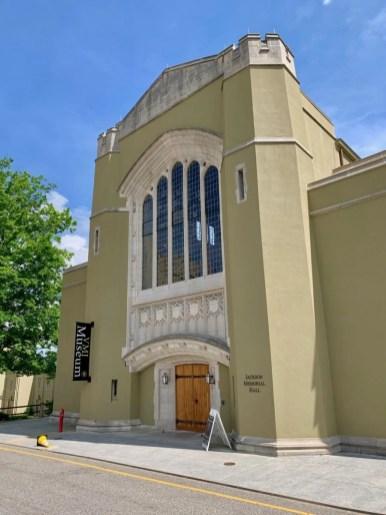 VMI Jackson Memorial Hall Exterior