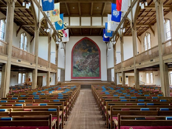 VMI Jackson Memorial Hall Interior