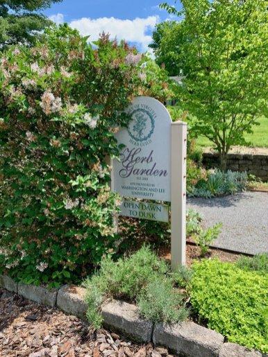 Valley of Virginia Herb Guild Garden Sign