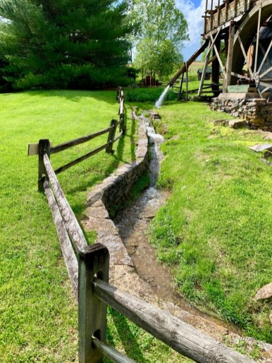 Wades Mill Spillway - Scenic & Historic Things to Do in Lexington, Virginia