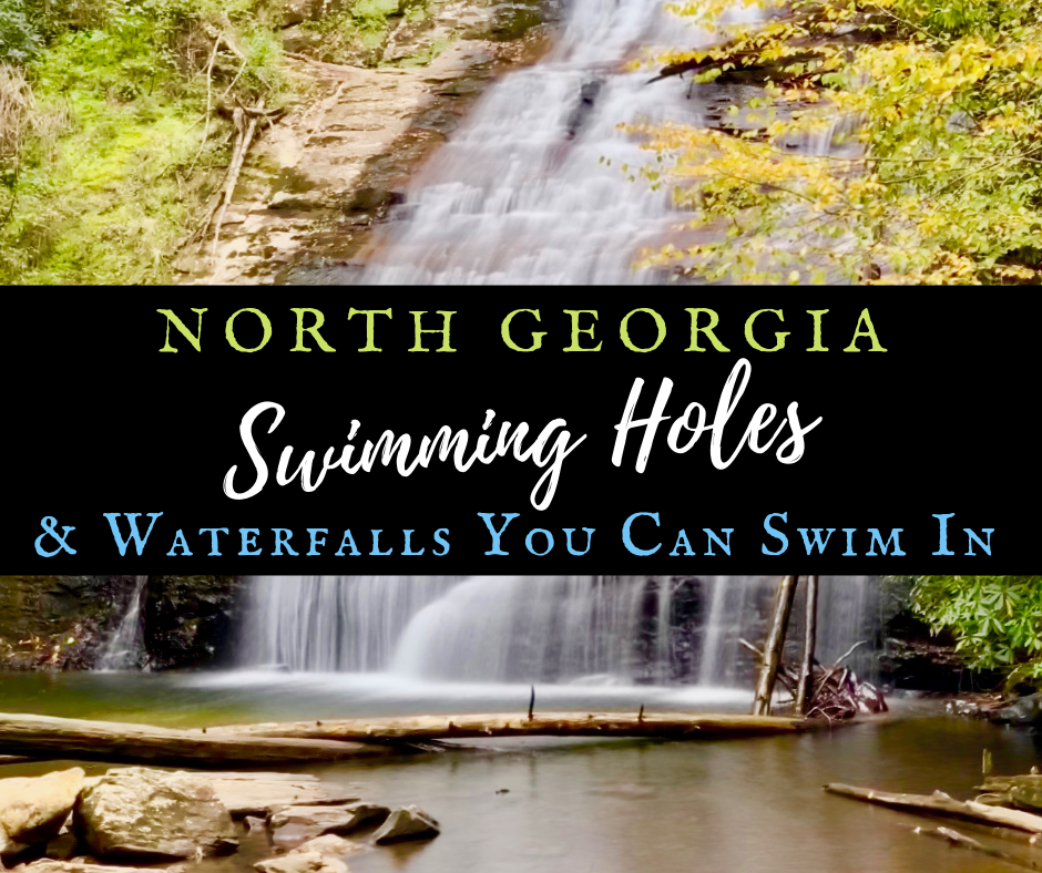 North Georgia Swimming Holes & Waterfalls You Can Swim In