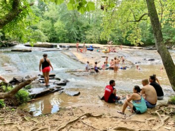 Georgia Swimming Holes: Poole's Mill Sliding Rock