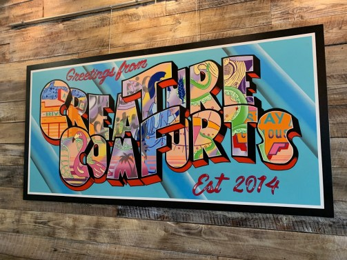 Creature Comforts Brewing Athens Sign