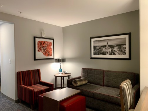 Homewood Suites Living Area Athens