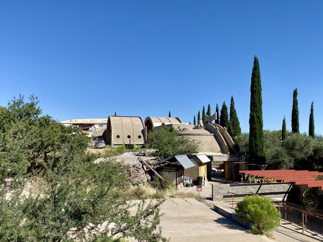 Arcosanti buildings - Things to Do on a Drive from Phoenix to Flagstaff, Arizona