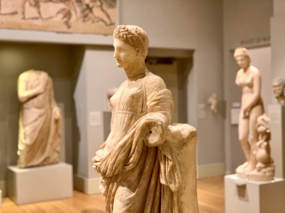 Carlos Museum Sculpture - 3 World-Class Atlanta Museums of History