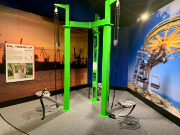 Fernbank Interactive Pulleys - 3 World-Class Atlanta Museums of History