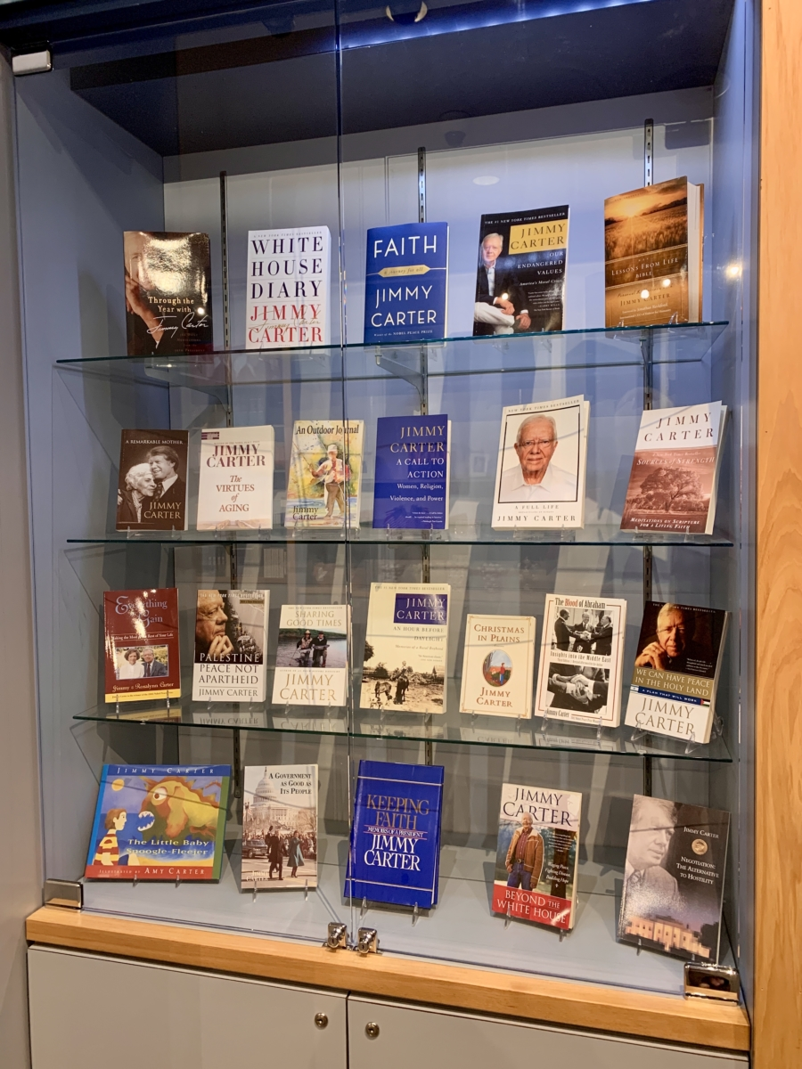 Jimmy Carter Books - A Visit to the Jimmy Carter Presidential Library and Museum