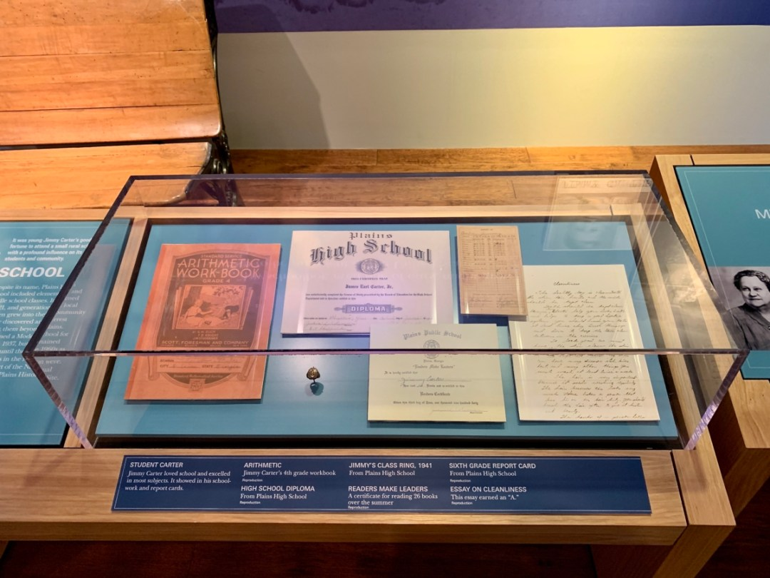 Jimmy Carter Childhood Documents - A Visit to the Jimmy Carter Presidential Library and Museum