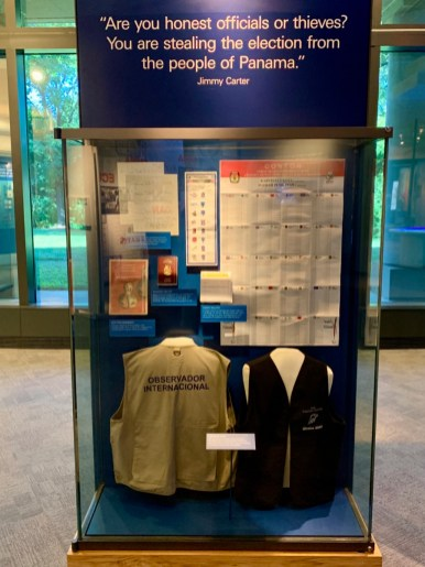 Jimmy Carter Supervise Elections Exhibits