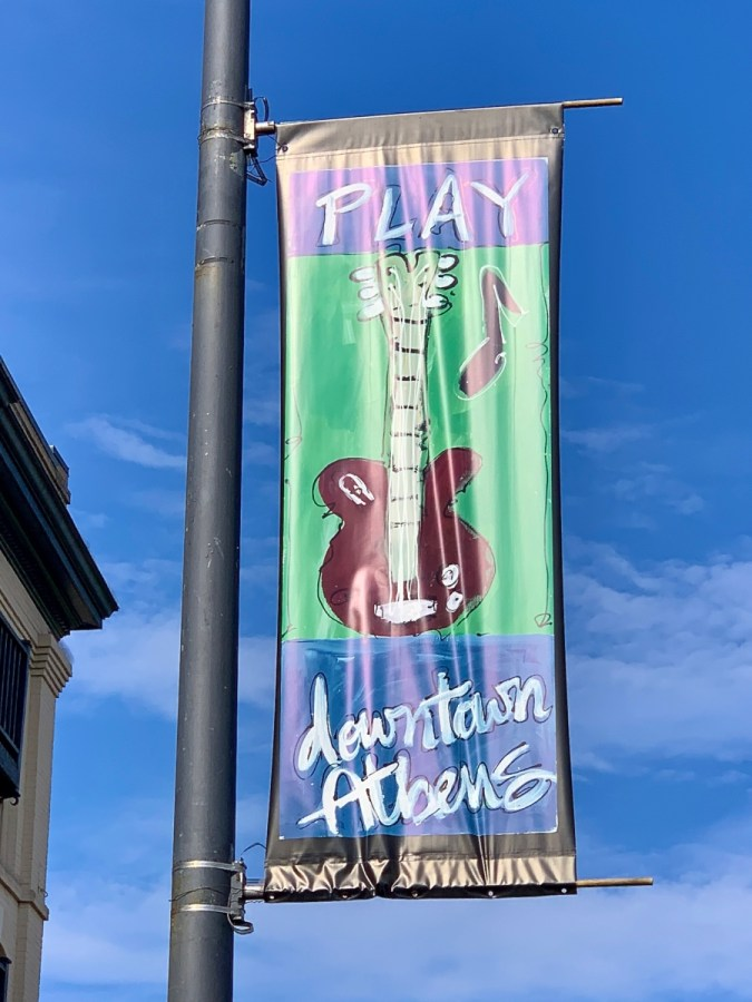 Play Downtown Athens sign - 18+ Outstanding Athens Georgia Attractions