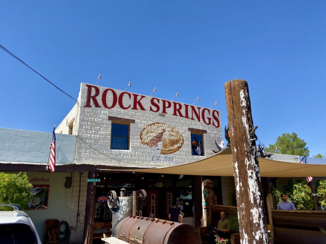 Rock Springs Cafe - Things to Do on a Drive from Phoenix to Flagstaff, Arizona