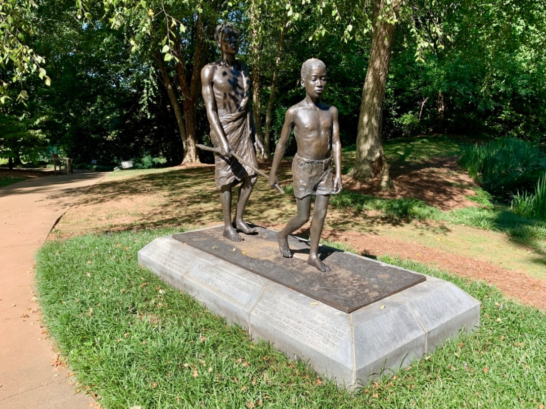Sightless Among Miracles sculpture - A Visit to the Jimmy Carter Presidential Library and Museum