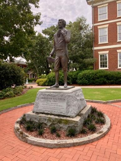 UGA Abraham Baldwin Statue
