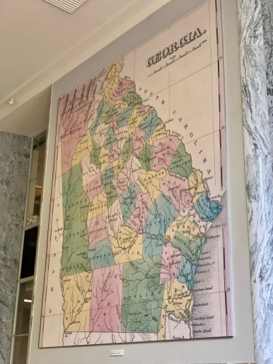 UGA Historical Georgia Map - 18+ Outstanding Athens Georgia Attractions