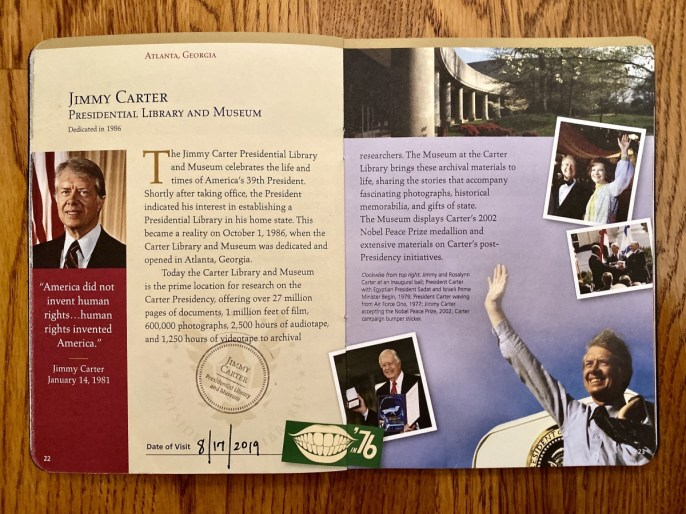 Carter Passport to Presidential Libraries - A Visit to the Jimmy Carter Presidential Library and Museum