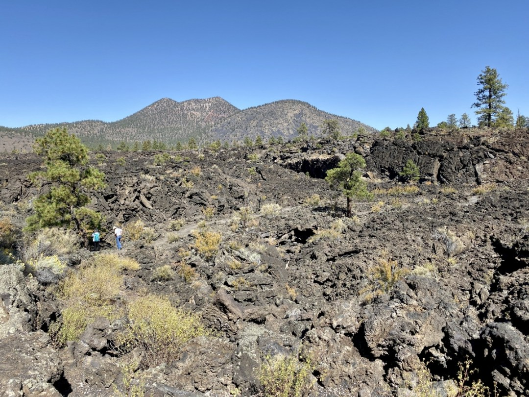 Aa Trail Sunset Crater Volcano NM - 3 Magnificent Flagstaff National Monuments