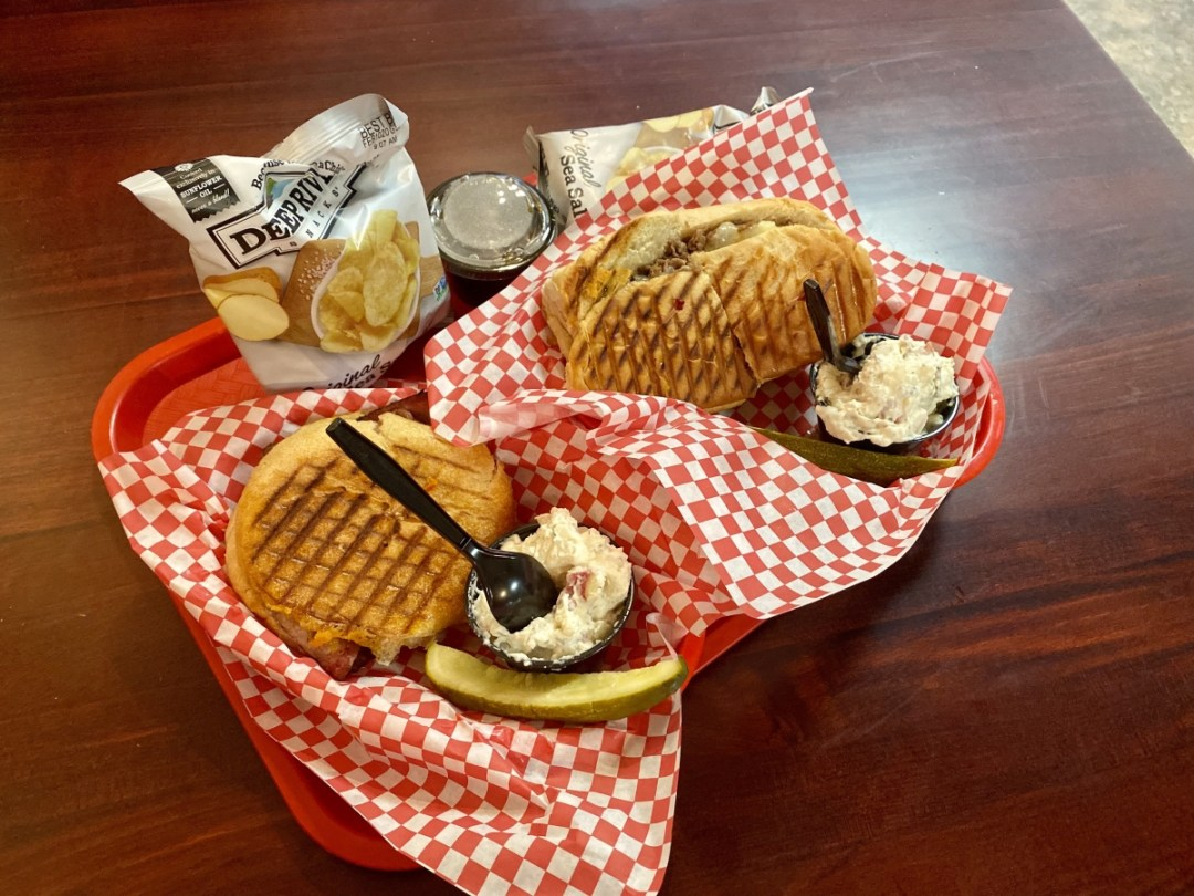 Blasted Bistro sandwiches - Tons of Fun Things to Do in Winslow Arizona