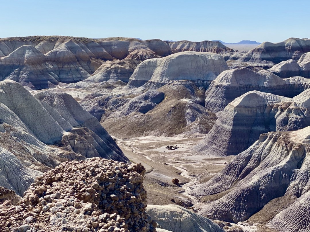 Blue Mesa - Drive the Painted Desert & Petrified Forest National Park