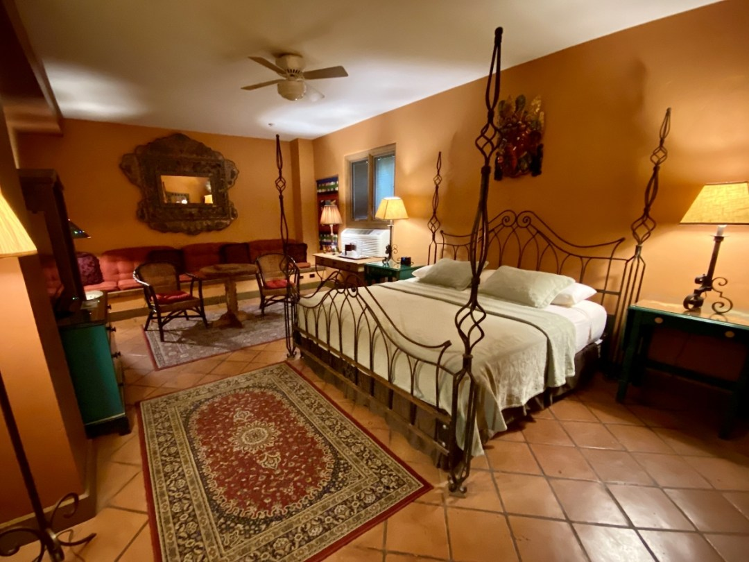 La Posada Hotel guestroom - Drive the Painted Desert & Petrified Forest National Park