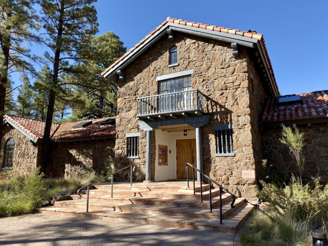 Museum of Northern Arizona entrance - Tour Flagstaff Attractions On Your Own