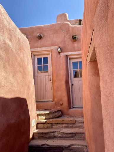 Painted Desert Inn guestroom doors