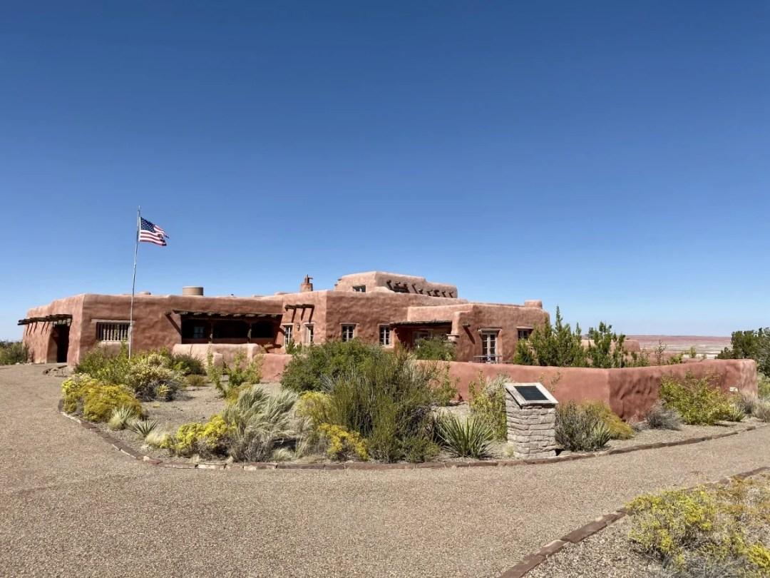 Painted Desert Inn - Drive the Painted Desert & Petrified Forest National Park