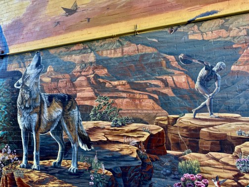 Sound of Flight Mural Flagstaff - Tour Flagstaff Attractions On Your Own
