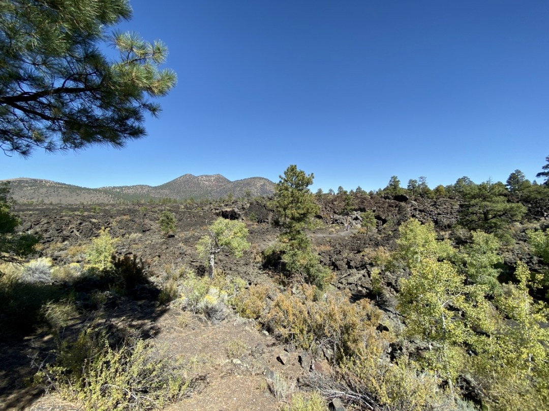 Sunset Crater roadside lava flow - 3 Magnificent Flagstaff National Monuments