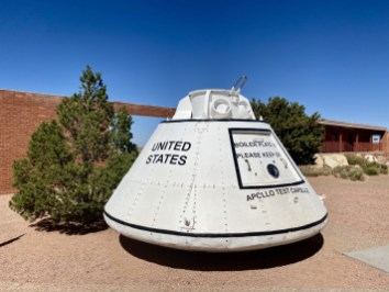 Apollo Test Capsule - Tons of Fun Things to Do in Winslow Arizona