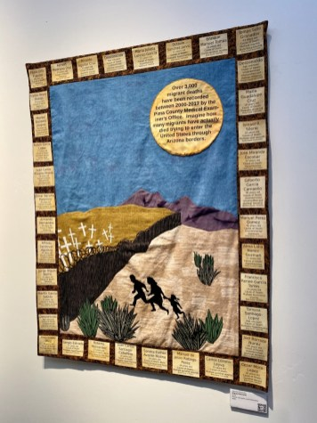 Arizona ACLU Migrant Memorial quilt - Tons of Fun Things to Do in Winslow Arizona