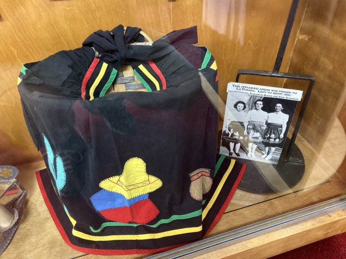 Harvey Girl apron - Tons of Fun Things to Do in Winslow Arizona