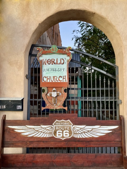 Route 66 Worlds Smallest Church - Tons of Fun Things to Do in Winslow Arizona