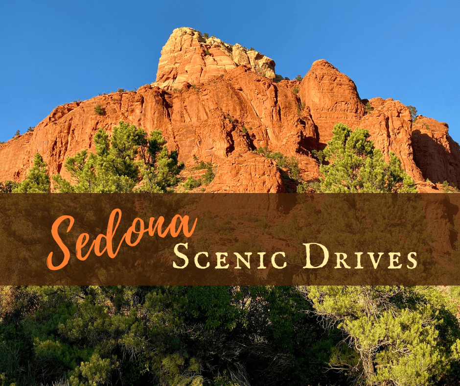 Sedona Scenic Drives featured - Design Your Own Arizona Road Trip Itinerary