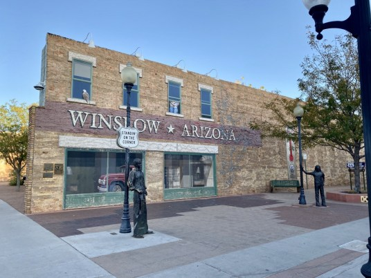 Standing on the Corner Park Winslow AZ - Tons of Fun Things to Do in Winslow Arizona