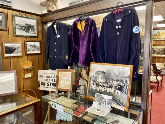 Vintage railroad artifacts - Tons of Fun Things to Do in Winslow Arizona